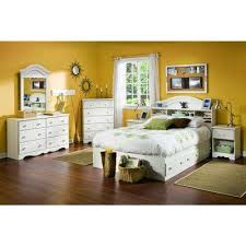 South Shore Cottage Bookcase Headboard Kids Beds Headboards Beauteous Youth Bedroom Furniture For Boys Style