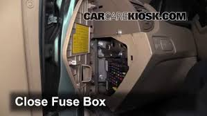 interior fuse box location kia sportage kia interior fuse box location 2005 2010 kia sportage 2007 kia sportage lx 2 0l 4 cyl