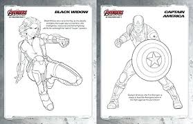 Marvel Avengers Coloring Pages Infinity War Characters Awesome The Page