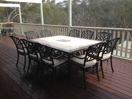 deck wrought iron table. Outdoor-dining-stone-rositano-cast-florentine-deck (1) Deck Wrought Iron Table E
