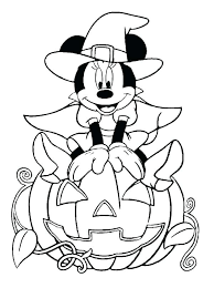 Coloring Pages Halloween Free Entucorg
