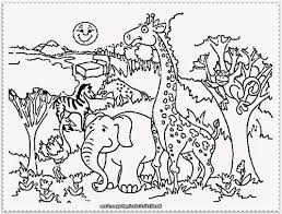 Small Picture Zoo Animals Coloring Pages Coloring Book of Coloring Page