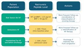 Bnp Levels Chart 6 Biomarkers Natriuretic Peptides