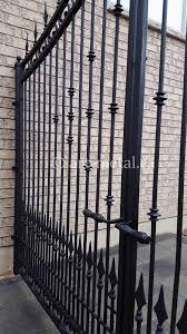 metal fence gate. #0614 #0610 Metal Fence Gate