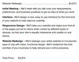Website Redesign Proposal Template Website Request For Proposal ...