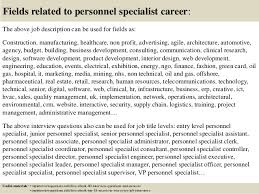 Personnel Specialist Job Description Top 10 Personnel Specialist Interview Questions And Answers