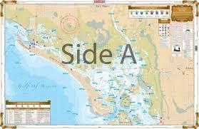 Estero Bay Depth Chart Lemon Bay To Naples Chart Kit Inshore Fishing Nautical Map