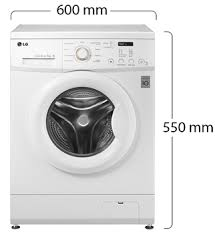 washing machines dimensions.  Dimensions LG Front Load Washing Machine  Physical Features Intended Washing Machines Dimensions S