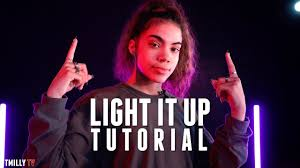 Light It Up Song Youtube Marshmello Light It Up Dance Tutorial By Natalie Bebko