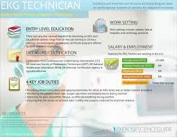 89 Ekg Technician Resume How Much Does An Ekg Technician