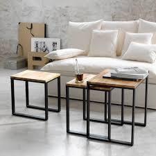 jolie-table-basse-salon-bois-tendance - Le Blog déco de MLC