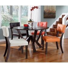 Powell Prism 5 Piece Dining Table Set With Multi Color