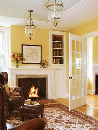 dream room furniture. White Millwork, Soft Yellow Walls, Honey Wood Floors, Cognac Leather Wing Chairs: This Is My Dream Room! Favorite Color! Room Furniture D