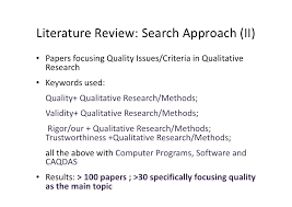 quality in qualitative research the role of the software s in quali  quality in qualitative research the role of the software s in quality assurance