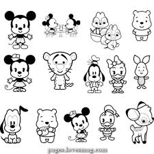 In 2012, three children were born in disneyland. Great Cute Disney Coloring Pages Disneycoloringpages Disneycolouringingpages Cutecolor Cute Coloring Pages Baby Disney Characters Disney Cuties