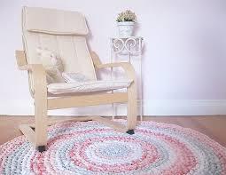 kids room decor shabby chic rag rug girls rug girl nursery round elephant nursery rug
