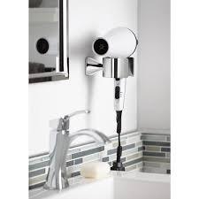 moen voss wall mounted hair dryer