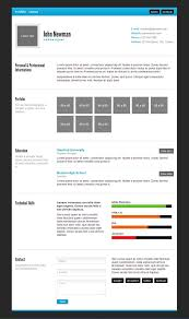 Minimal Html Resume With Free Download By Madazulu On Deviantart