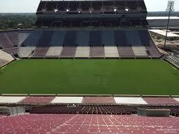 Oklahoma Memorial Stadium Seating Chart Oklahoma Memorial Stadium Section 105 Rateyourseats Com