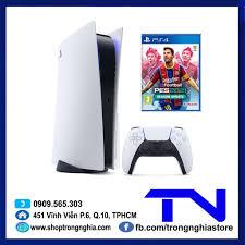 Máy PS5 Sony PlayStation 5 Standard Edition CHÍNH HÃNG Sony Việt Nam + Đĩa  game PES 2021 (PS4)