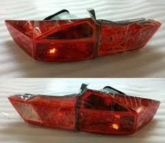 China Tail Lamp Taillight 33500 T9a H01 33550 T9a H01 For Honda City