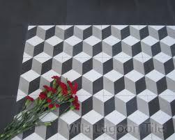 black and white tile floor. Cubes A\ Black And White Tile Floor G