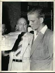 Franklin McCall listening to the indictment charging him w/ 1938 Vintage  Press Photo Print - Historic Images