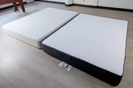 casper box spring. side-by-side of tuft \u0026 needle and casper for best mattress box spring l