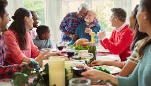 holiday dinner tips for caregivers at the holiday dinner table