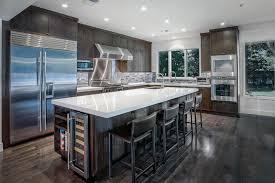 Exellent Custom Modern Kitchen Cabinets Eiforces I For Models Ideas