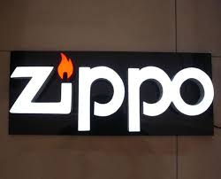 channel letter signs for zippo