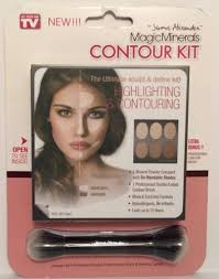 jerome alexander magic minerals contour kit as seen on tv brand new