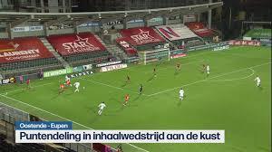 Inhaalmatch in eerste klasse: Oostende en Eupen delen de punten (1-1) |  Jupiler Pro League