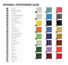 Speedball Underglaze Chart Speedball Underglazes Glazes Speedball Art