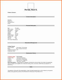 Free Resume Templates Pdf New Free Resume Template Free Resume