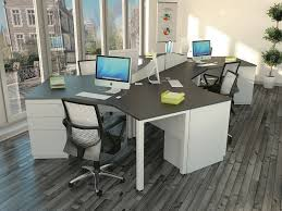 Office:Small Space In Round Desk With Partition Idea Futuristic Office Desk  Design Idea