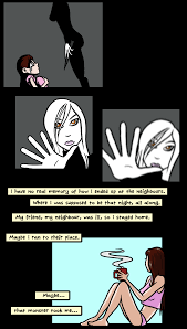 Datachasers - Memory Shard - Noctis/Aurelia page 5 ( Guest comic by  argylefox )