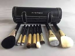 image is loading mac makeup professional brushes kit genuine brand new
