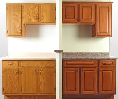 cabinet refacing before and after. Simple Cabinet Cabinet Refacing  Before U0026 After Refacing Showroom Display  Front View Intended Cabinet And