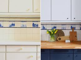 painted kitchen cupboards farrow ball railings dimpse little house on the