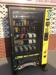 Used Live Bait Vending Machine For Sale Beauteous Sportsman Live Bait Vending