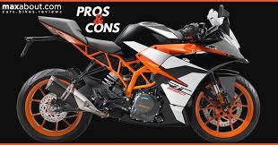 pros cons of ktm rc 390 sports bike