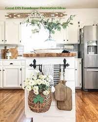 Incredible Diy Farmhouse Theme Decoration Farmhouse Kitchen Decor Kitchen Design Diy Diy Kitchen Decor