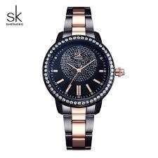 <b>Shengke</b> Luxury <b>Quartz Watch Women</b> Brand Crystal <b>Ladies Wrist</b> ...