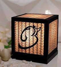 brown corrugated board paper table lamp by sylvn studio
