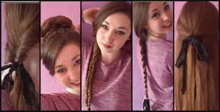 Simple Hairstyles For College Running Late 10 Fast Easy Hairstyles For School College Work