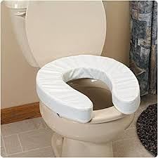 elongated padded toilet seat. sammons preston padded toilet seat cushions with cut-out, 2\u0026quot; elongated - o