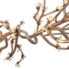 branch chandelier lighting allanknight branch chandelier lighting w