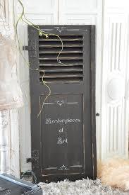 Alter Shabby Fensterladen Im Originallack Elfloraart