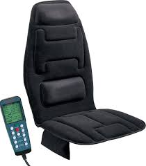 com relaxzen 10 motor massage seat cushion with heat black health personal care